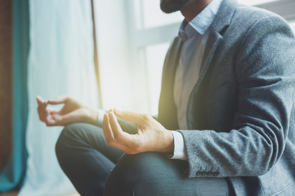 Meditate at least once a day