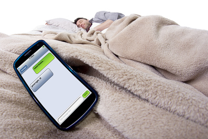 Recognize you are addicted to your device if IT sleeps nearby