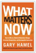 Book: What Matters Now