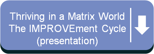 Download Thriving in a Matrix World-The IMPROVEment Cycle