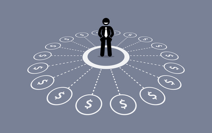 Proactively seek out multiple income sources.