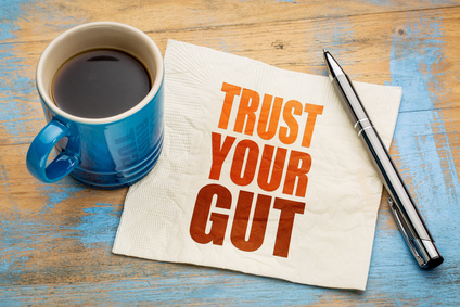 Choose well by listening to your gut.