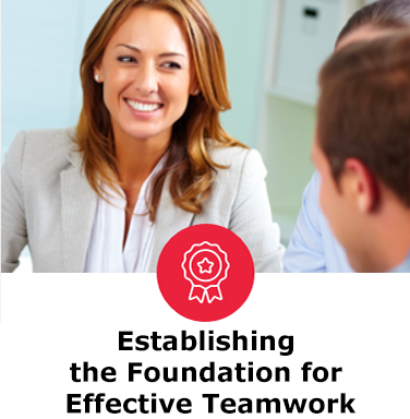 Establishing the Foundation for Effective Teamwork - The Five Behaviors success story