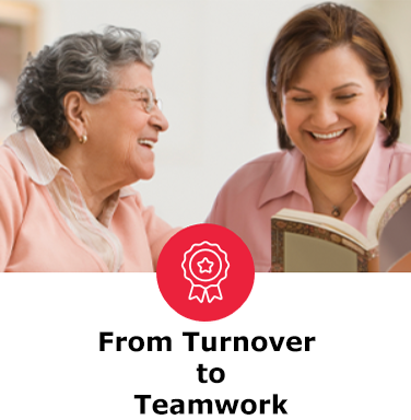 From Turnover to Teamwork - The Five Behaviors success story