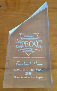 Bernhard Heine - Coach of the Year 2015