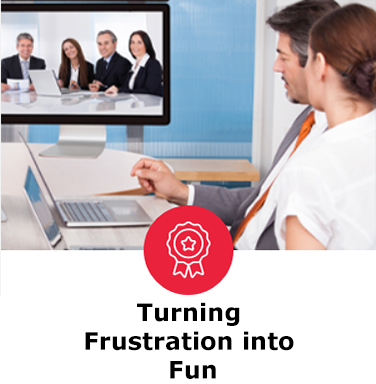 Turning Frustration Into Fun - The Five Behaviors success story