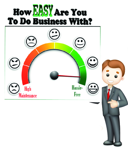 How Easy Are You To Do Business With?